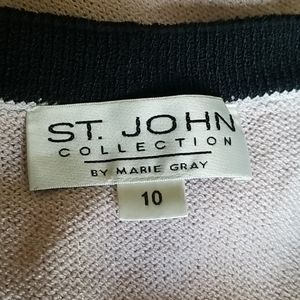 St. John Sweaters - St. John by Marie Gray 2 PC Santana Knit Cardigan